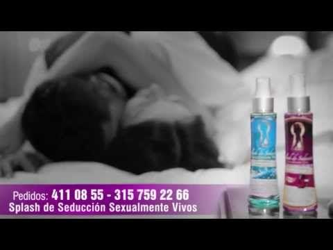 Splash de seduccion sexualmente vivos