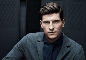 Fußballer Frisuren Mario Gomez Trend Haare Männer Frisuren