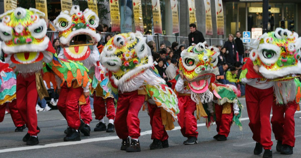 Celebrating Chinese New Year in North America Fishermans