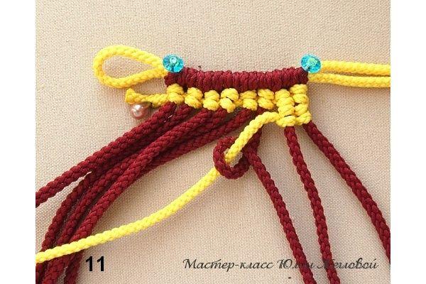 Цветное плетение Кавандоли: плетём брелок с буковкой. - Ярмарка Мастеров - ручная работа, handmade