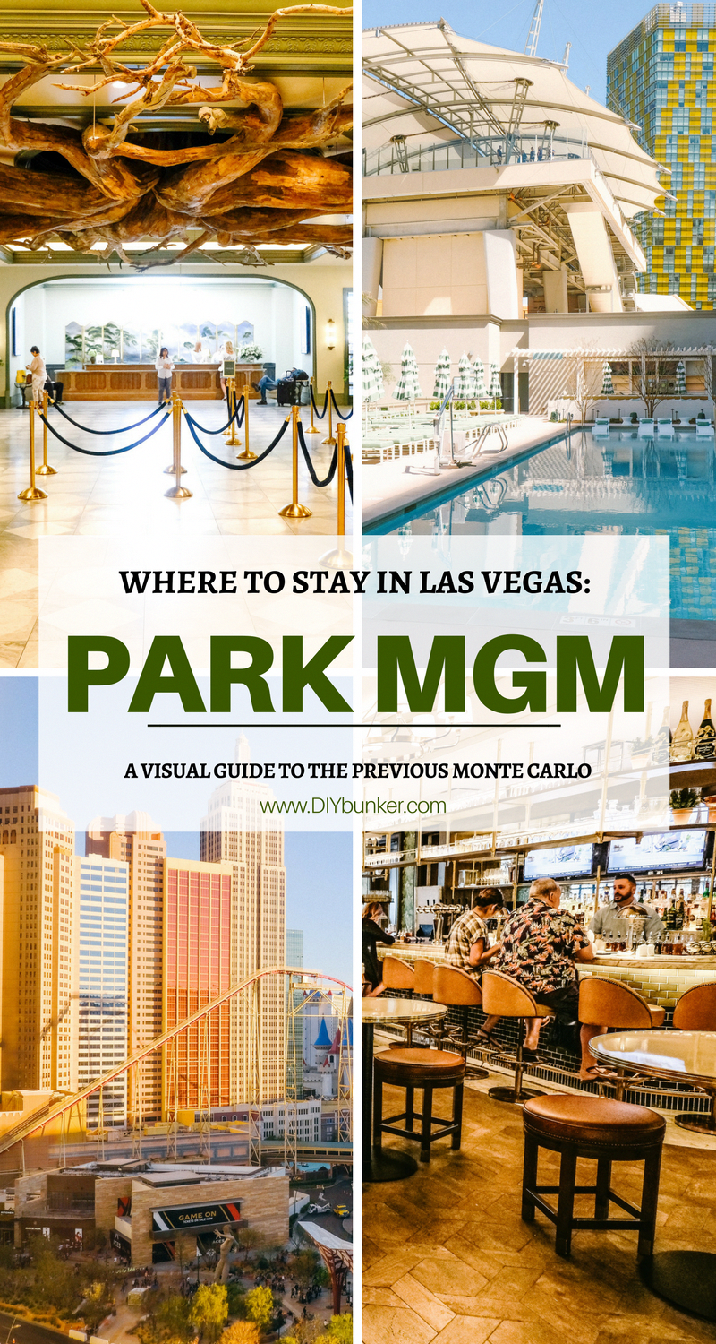 Monte Carlo Resort And Casino >> The Newly Renovated Park Mgm Previously Monte Carlo Resort