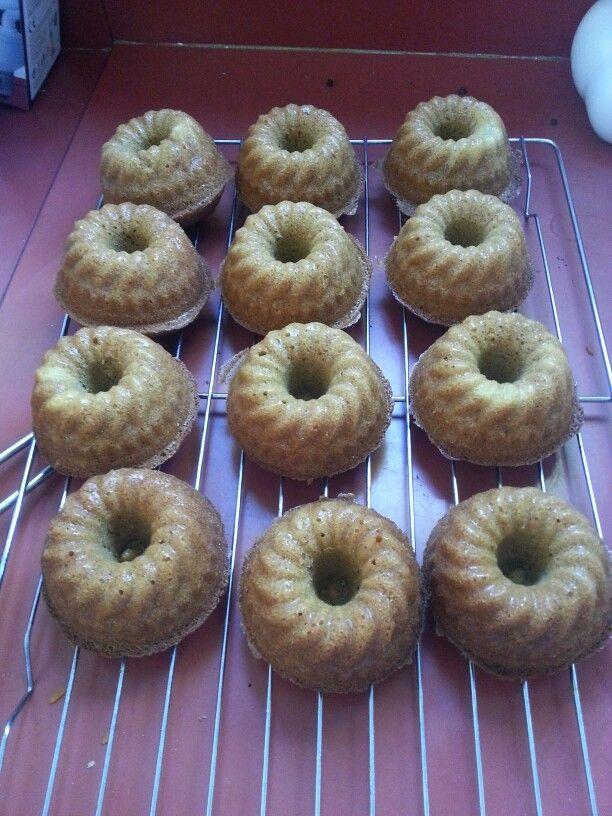 Mini Coffee Bundt Cakes