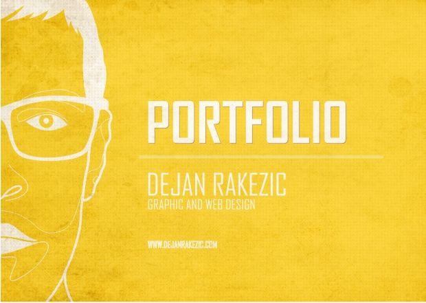 Graphic Design Portfolio Book Cover ~ Simple portfolio cover google search book