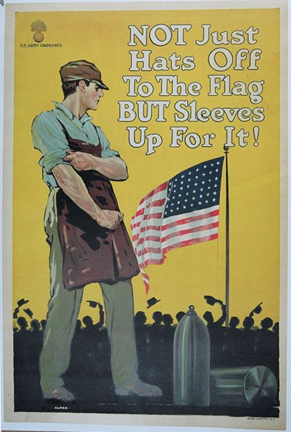 b71a6fa8be65 World War 1 Poster  If only Americans still had this attitude our country  would be a better place!