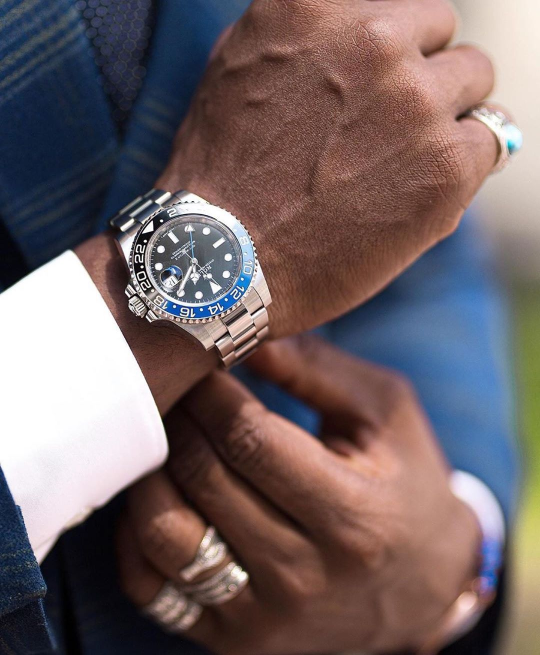 """Black Man Black Tie 
