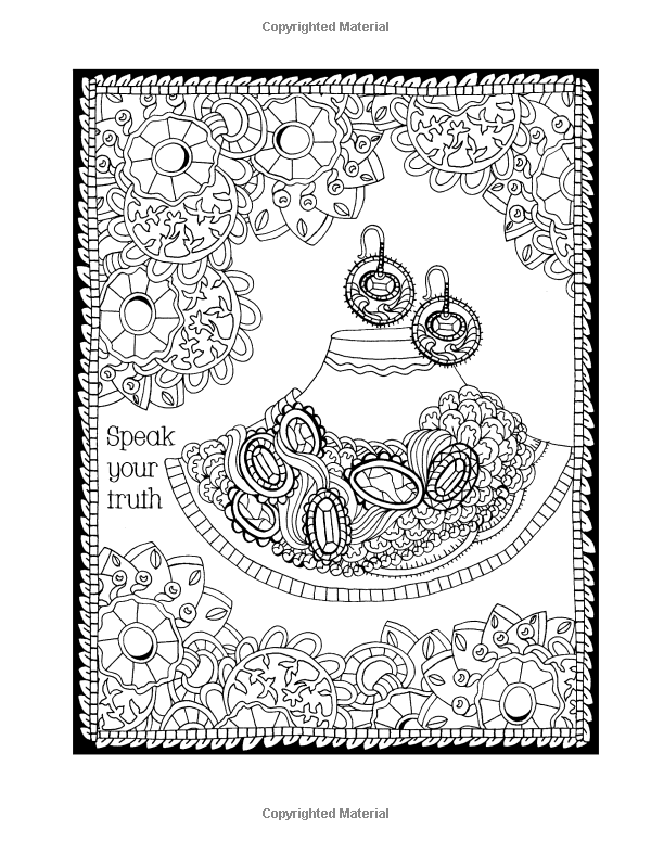Amazon Com Be You A Bejeweled Coloring Book Journal 9781533375834 Pam Vale Books Book Journal Coloring Books Color