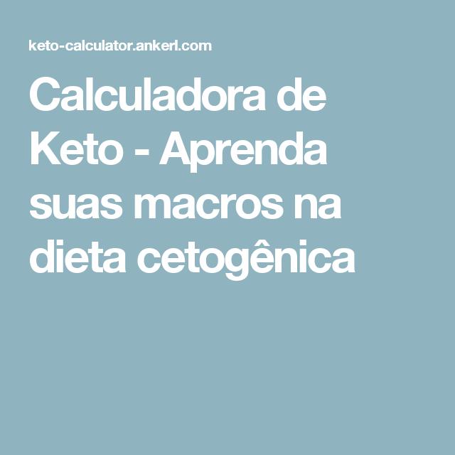 calculator dieta keto