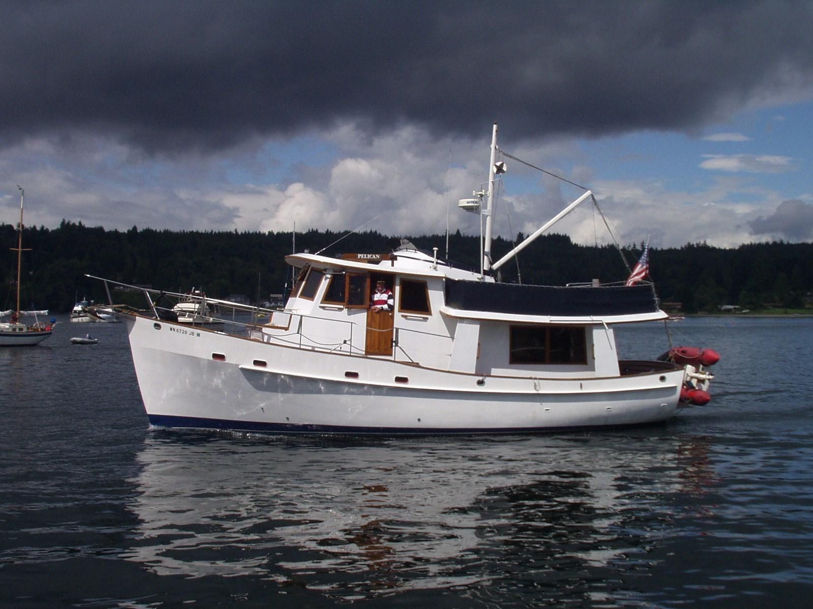 1981 Krogen 42 Trawler Project Power Boat For Sale Wwwyachtworld