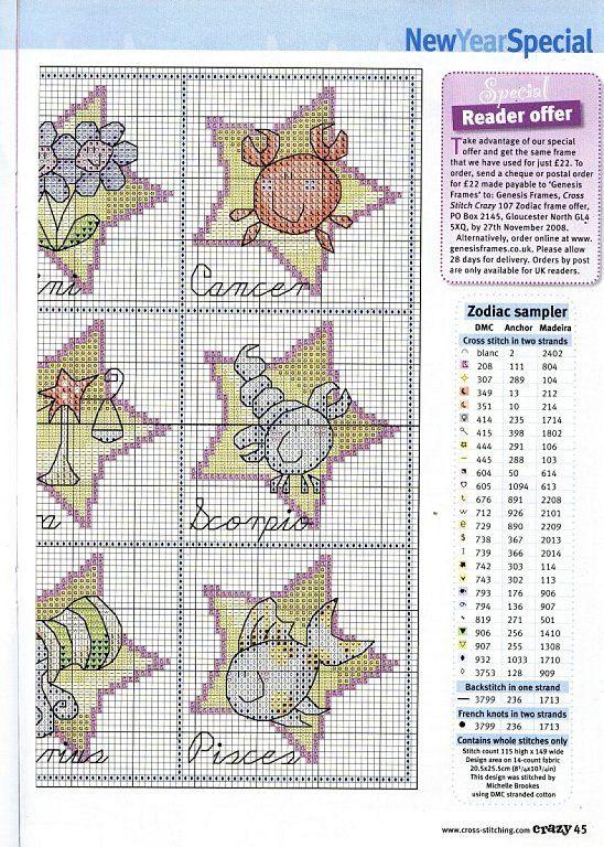 Para los peques... en punto de cruz (pág. 612) | Aprender manualidades es facilisimo.com