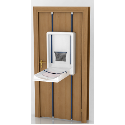Door mounted changing table  sc 1 st  Pinterest & Door mounted changing table | Baby | Pinterest | Change tables and ... pezcame.com