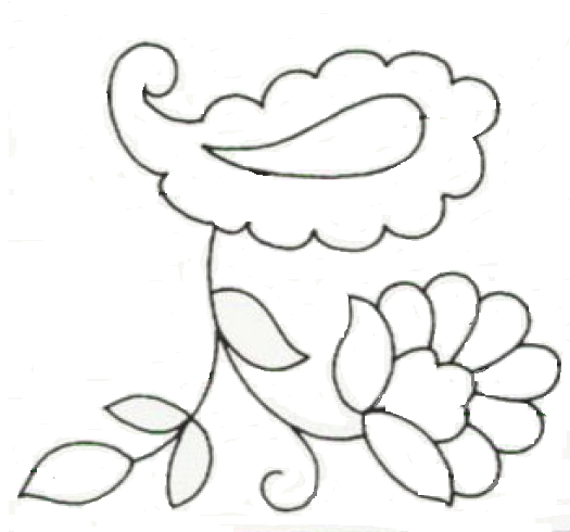 Royce s hub free embroidery pattern paisley floral
