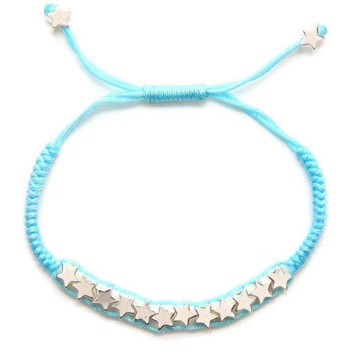 £8.50 Little Ella Jessie Blue Friendship Bracelet