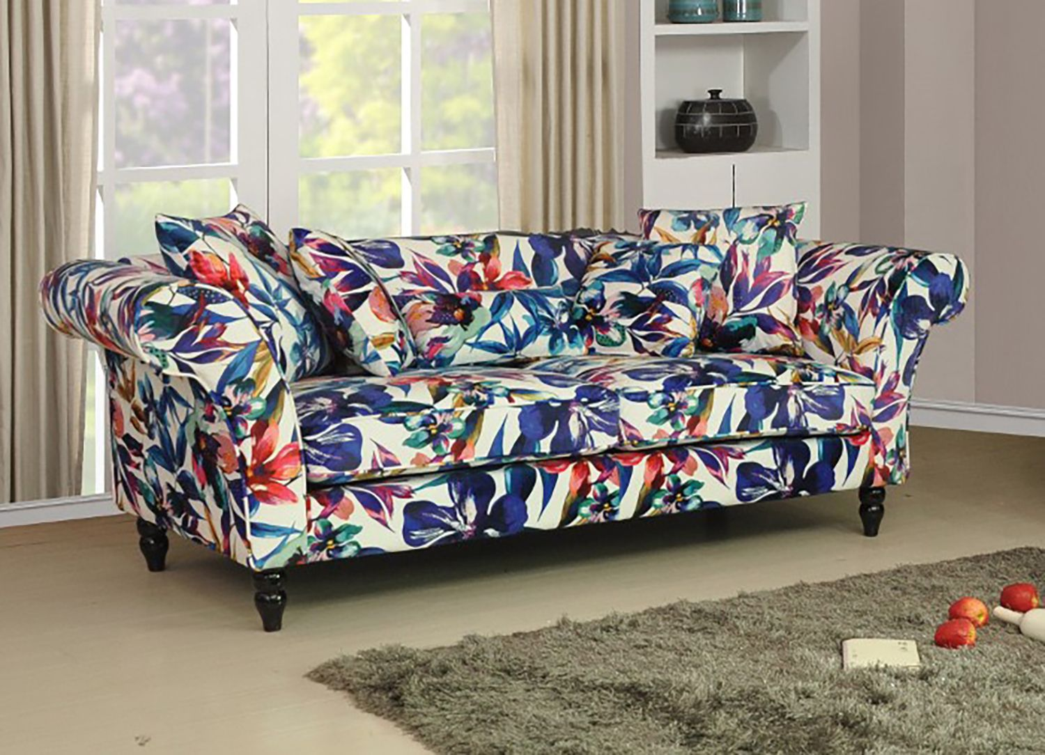 Trend Patterned Fabric Sofas 23 About Remodel Seater Sofa