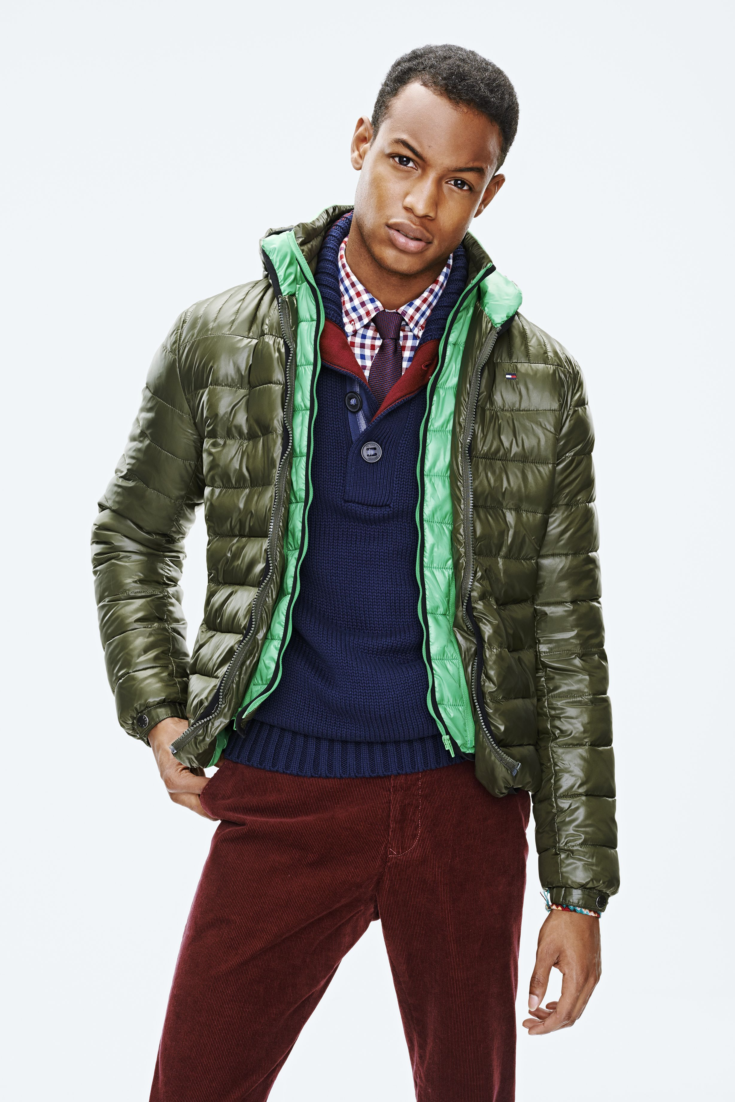 Light Weight Allen Bomber Jacket Shiny jacket, Hilfiger