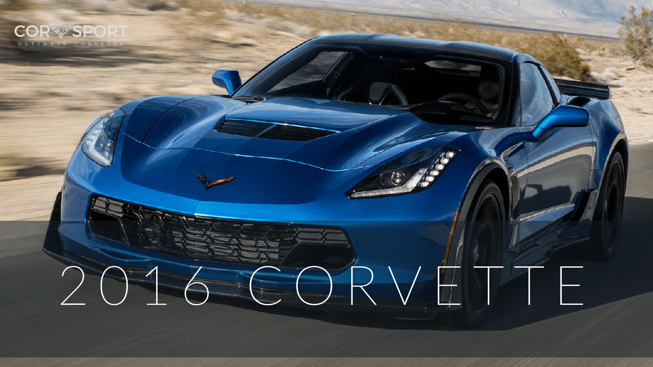 2016 Corvette Stingray Specs, Performance and Pics