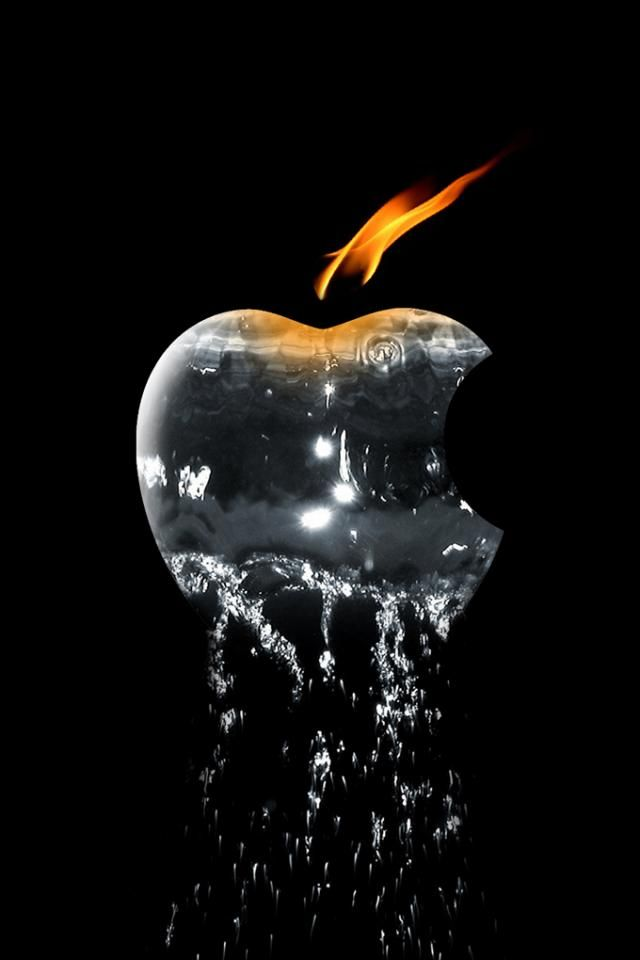 Elemental Apple iPhone Wallpaper. Free Download. iPhone