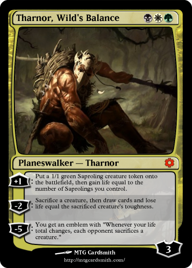Tharnor Wild S Balance Mtg Card Designs Pinterest Magic The