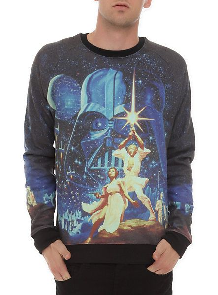 Star Wars Crewneck Sweatshirt | Want | Pinterest