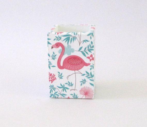 Stylo plume en bois flamingo porte bois bureau organisation