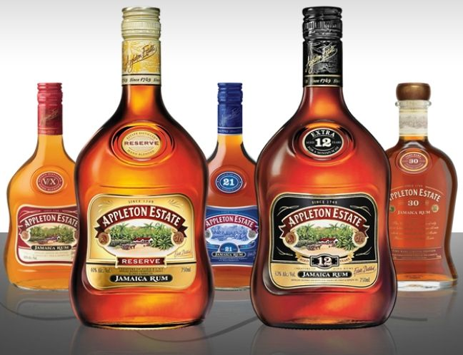 Caribbean Rum: Rum Cocktails From Appleton Estate Jamaica Rum