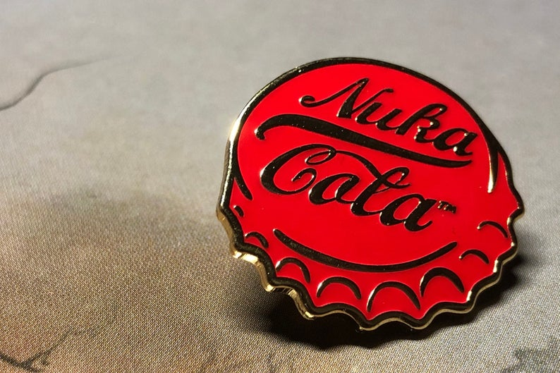 Nuka Cola Pin Fallout Pins For Backpacks Video Game Pin Etsy Gamer Gifts Fallout Game Fallout New Vegas