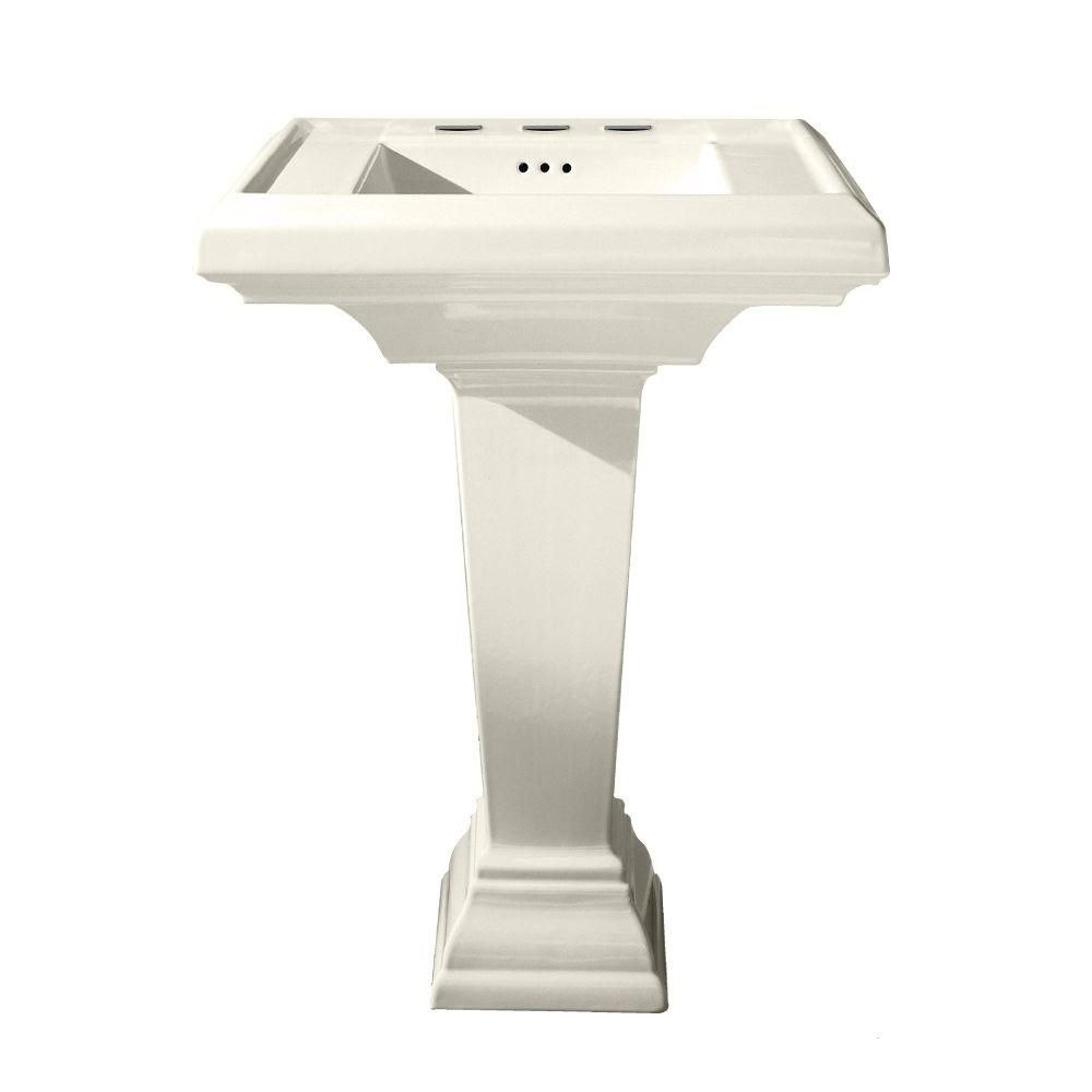 American Standard Town Square 27 In Pedestal Combo Bathroom Sink