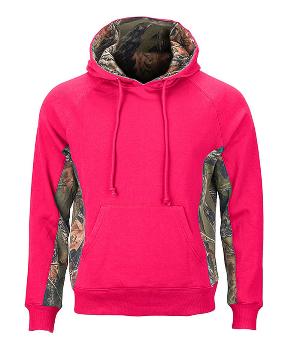 Look at this #zulilyfind! Trail Crest Neon Pink & Camouflage Cambrillo Hoodie by Trail Crest #zulilyfinds