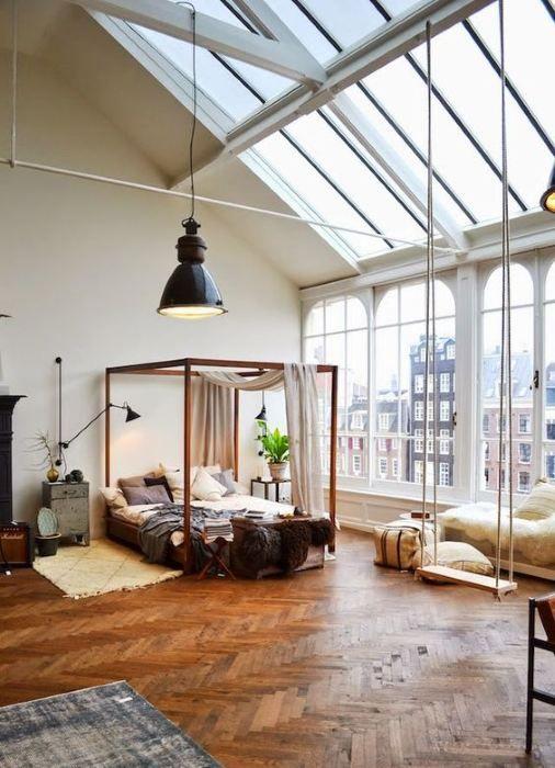 Himmelbett Bedroom Cozy Pinterest Holland house, Apartments