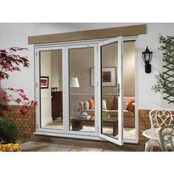 Wickes millbrook upvc external bi fold door set white 6ft for Wickes patio doors upvc