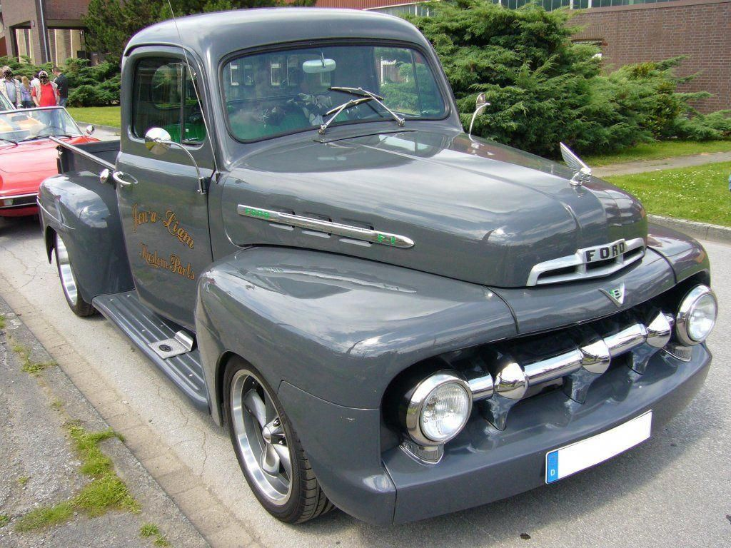 What! This car is my dream whip. So fly 1952fordf150 in