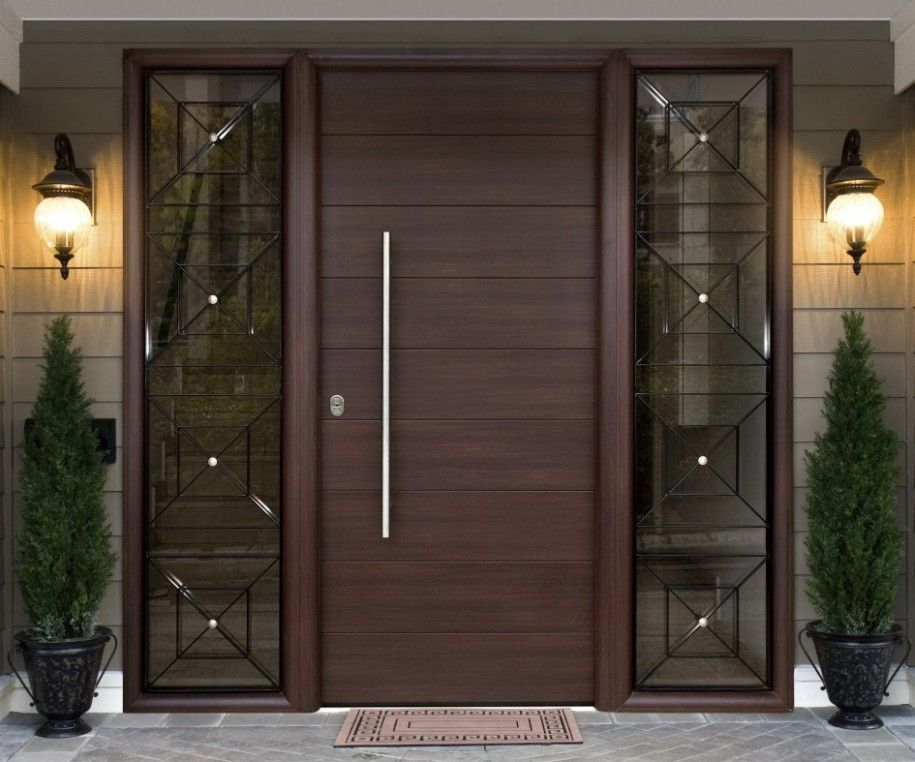 beautiful design ideas modern door. Contemporary Front Door Designs Steel Doors The Advantages Of Modern  For Your Home Photos Pretty main entrance door with chic side lite and nice wall light