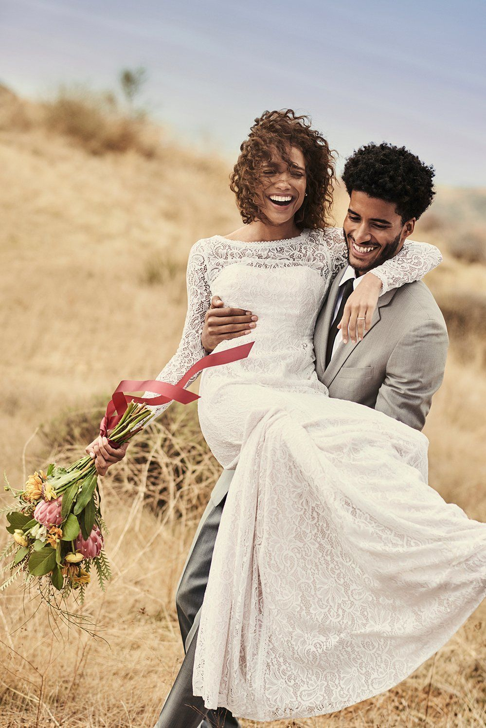 This long sleeve lace wedding dress is absolutely stunning shop