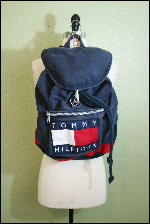 *NEW* Genuine Tommy Hilfiger Draw String Bag