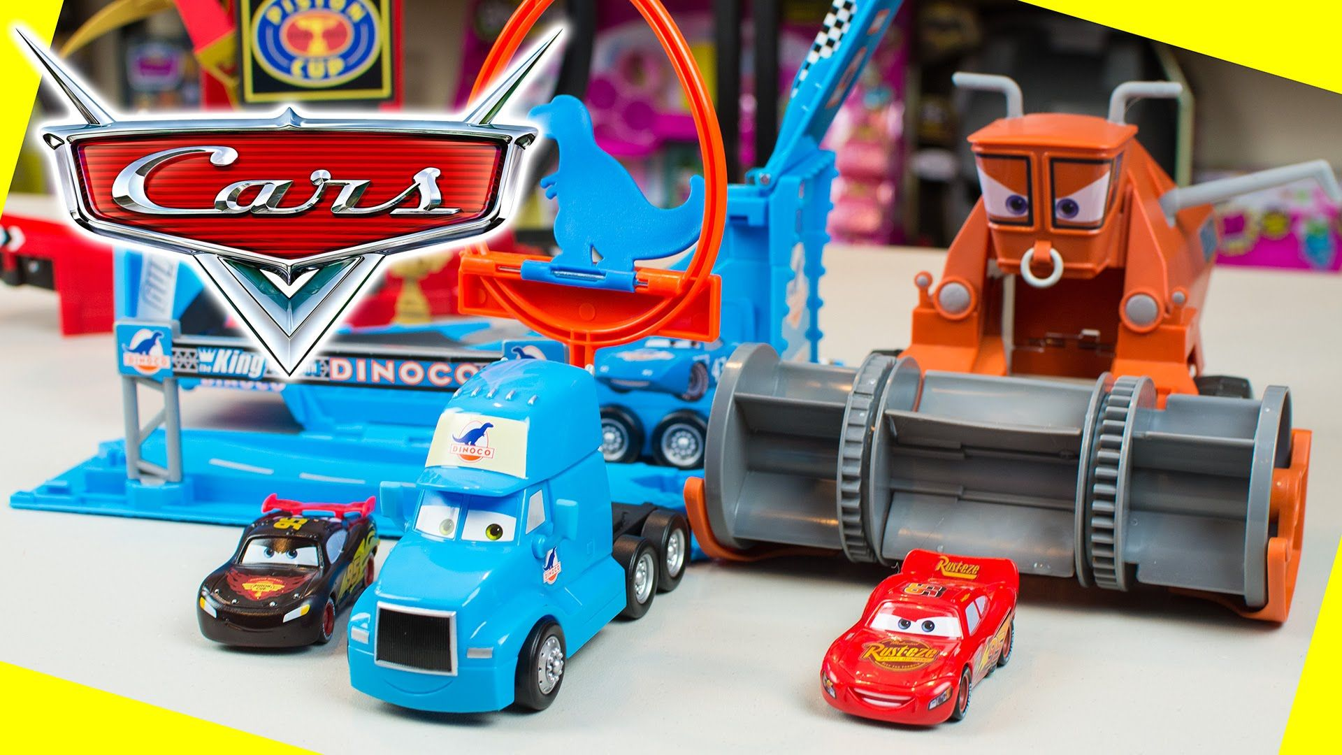 Toys For Boys To Color : Disney cars lightning mcqueen toys color changers playsets by mattel