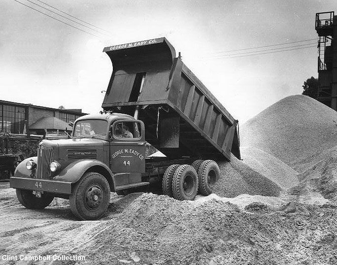 Image Result For 1950 S White Mustang 10 Wheel Dump Trucks Trucks White Truck Dump Trucks