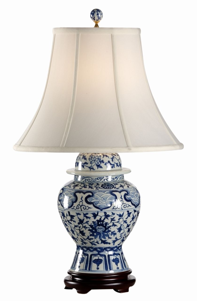 Indigo garden porcelain lamp by frederick cooper 28 home indigo garden porcelain lamp by frederick cooper 28 geotapseo Image collections