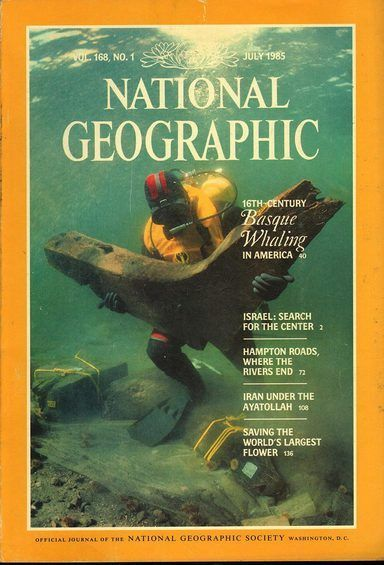 National Geographic July 1985
