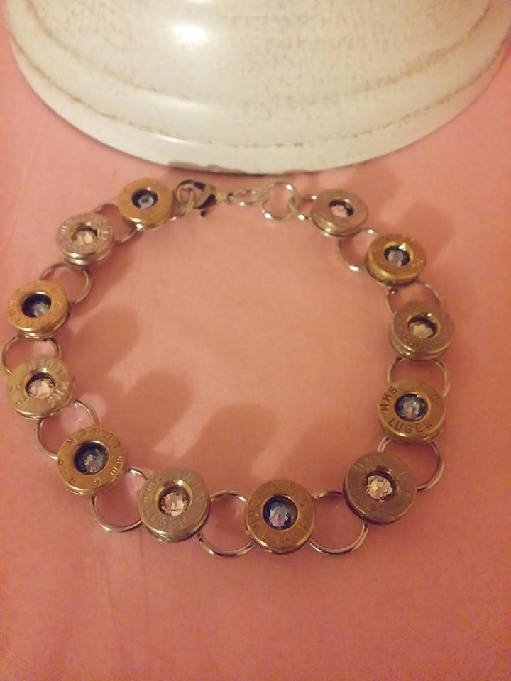 Bullet bracelet made by Lilac jewel Designs https://www.etsy.com/shop/LilacJewelDesigns?ref=search_shop_redirect