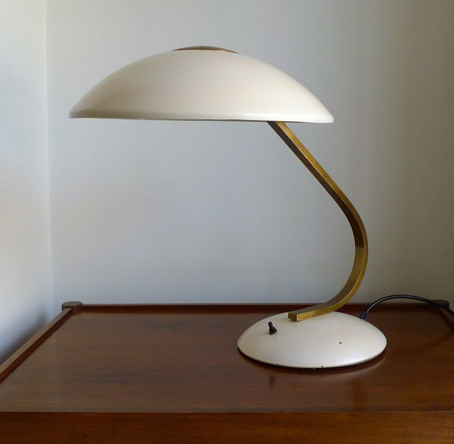 Anonymous for SIS (Sirius Schweinfurt); table lamp, brass