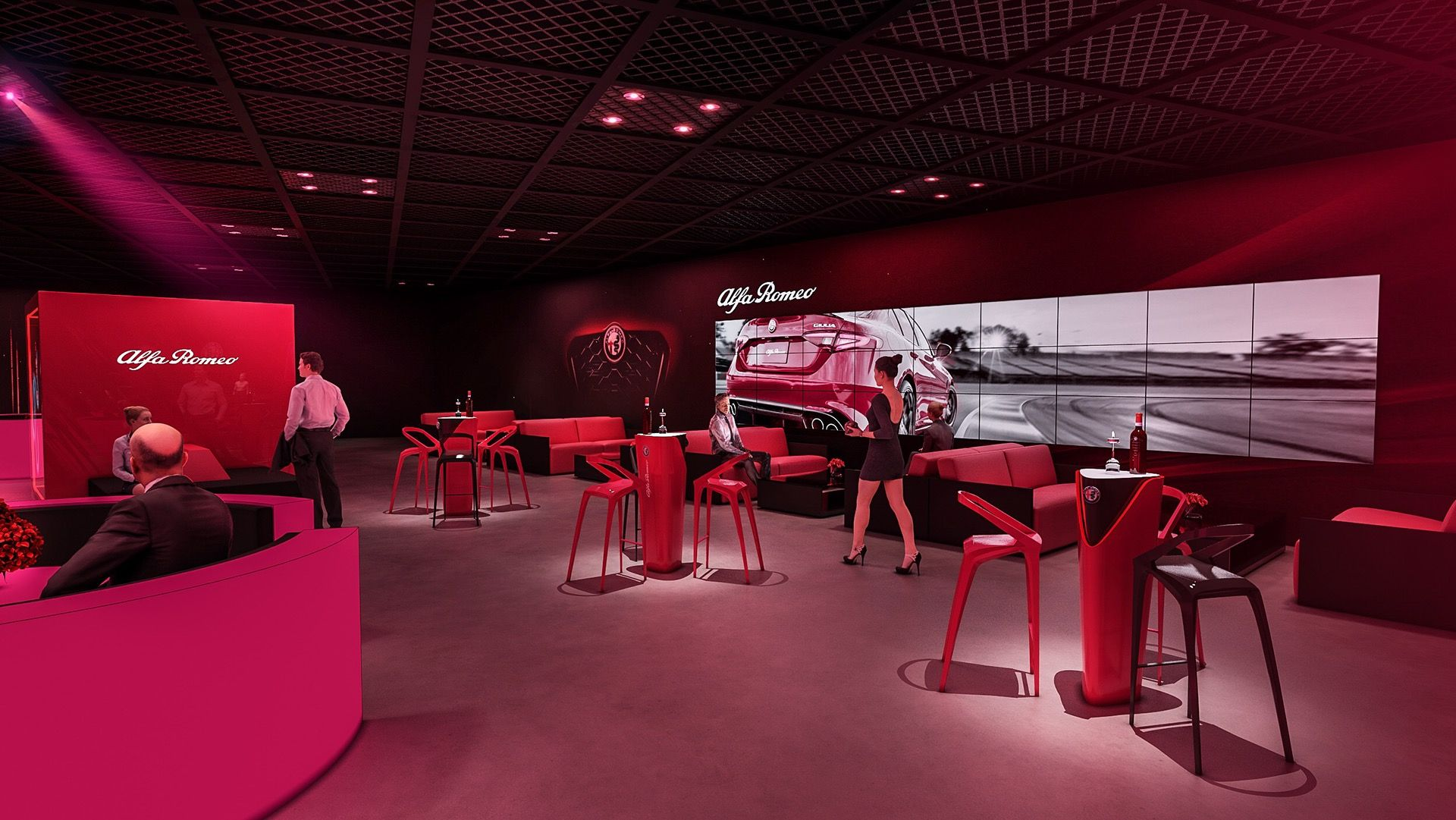 Alfa Romeo After Party On Behance Alfa Romeo Adobe Photoshop Lightroom Photoshop Lightroom