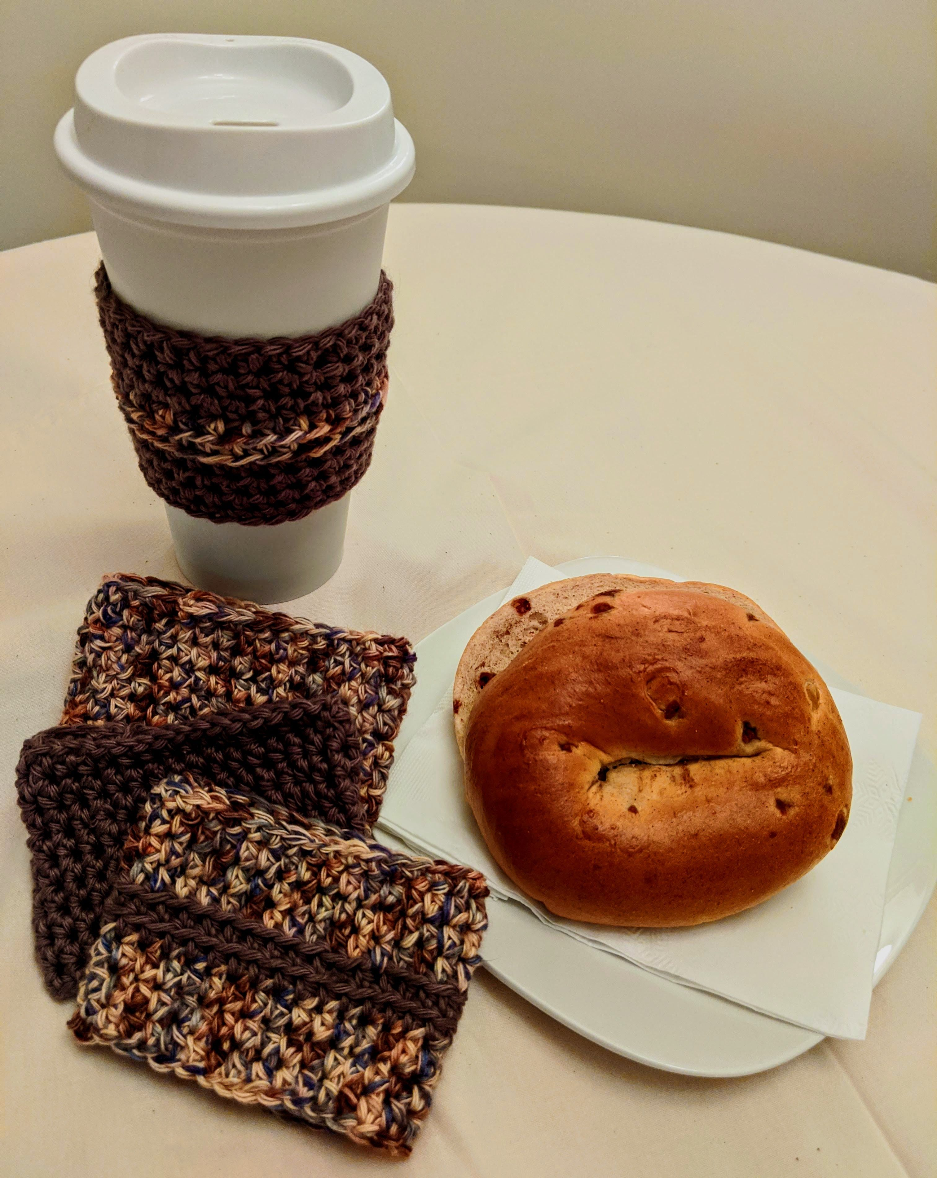 Reusable Cup Cozie Cup Holder Coffee Sleeve Crocheted