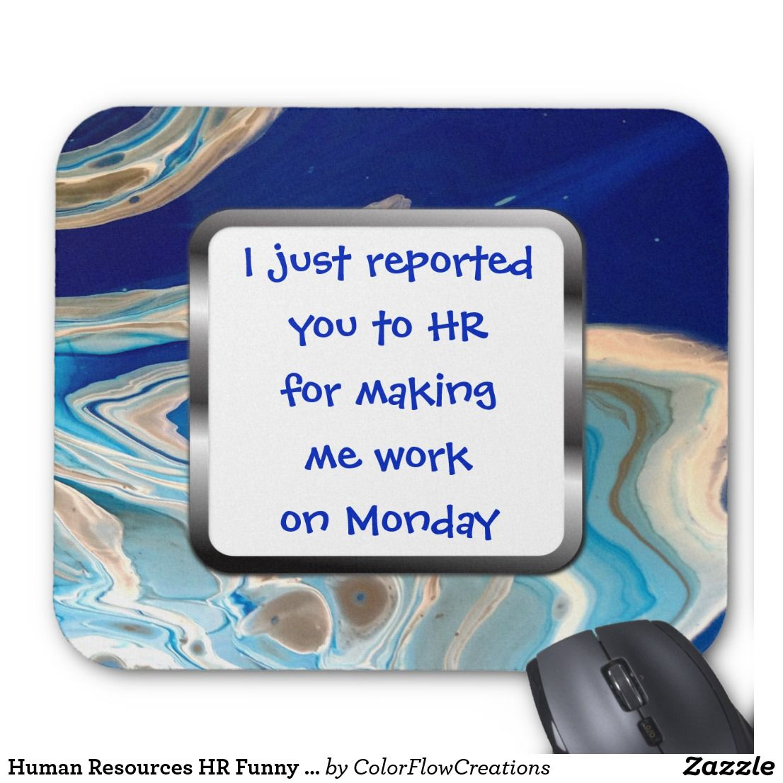 Funny Mousepad   Funny Office Mousepad   Work Humor   Office Humor Mouse Pad   Human