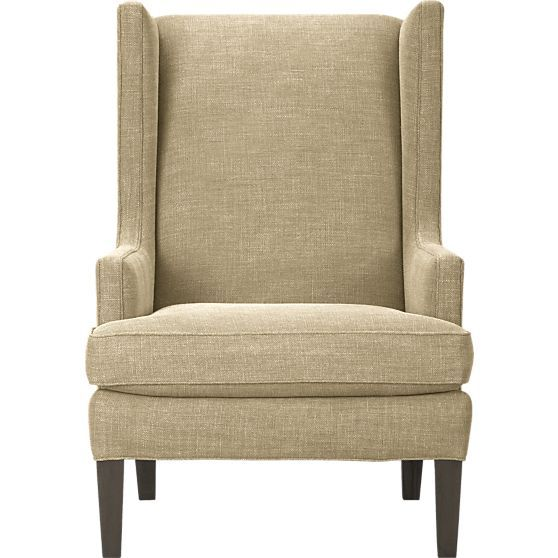 Luxe Wing Chair In Chairs