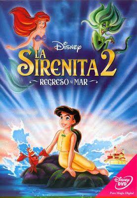 La Sirenita 2 Regreso Al Mar Disney Dvd Peliculas Infantiles De Disney Películas De Princesas La Sirenita 2