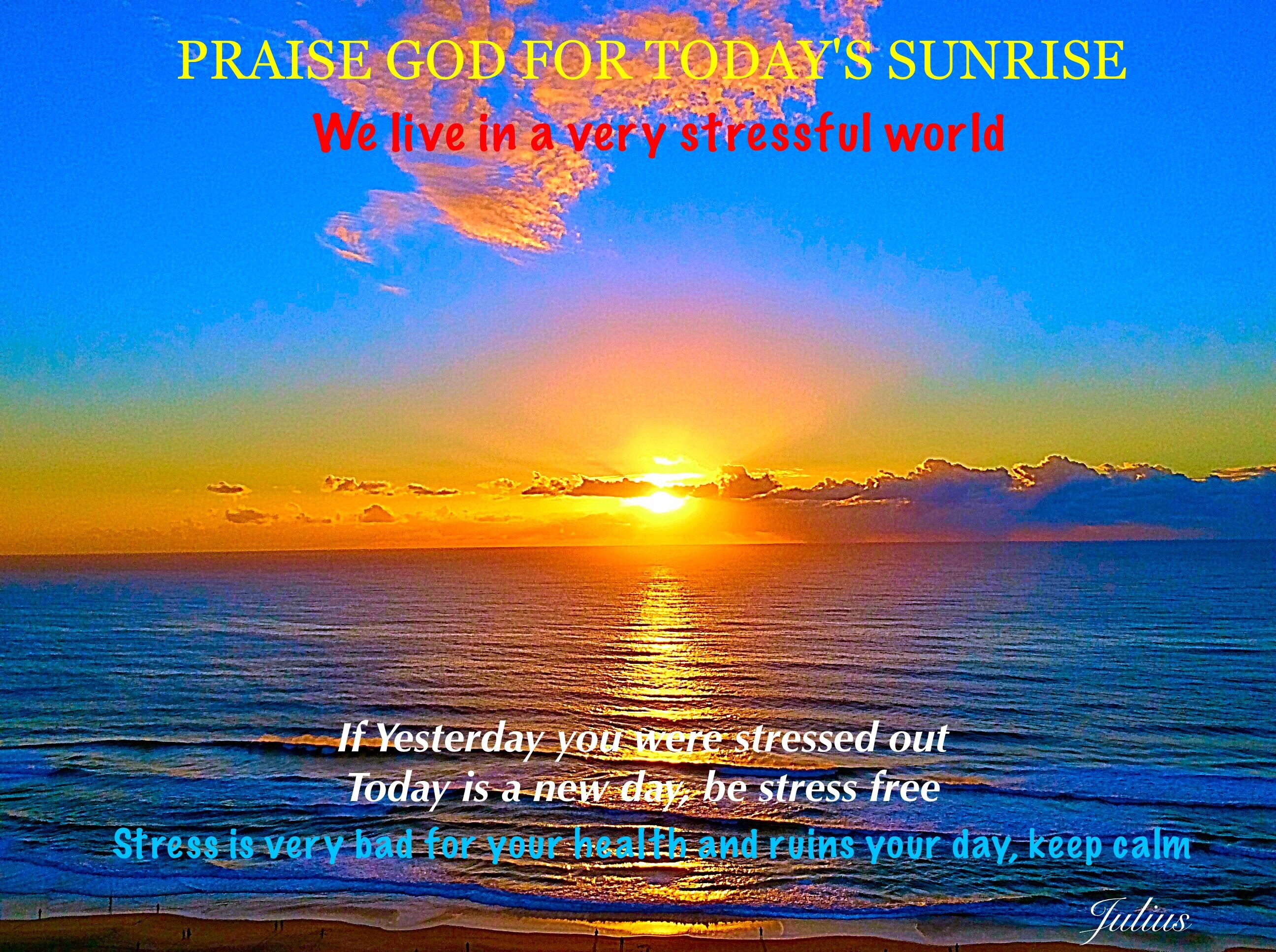 Have a Stress Free Day !!!