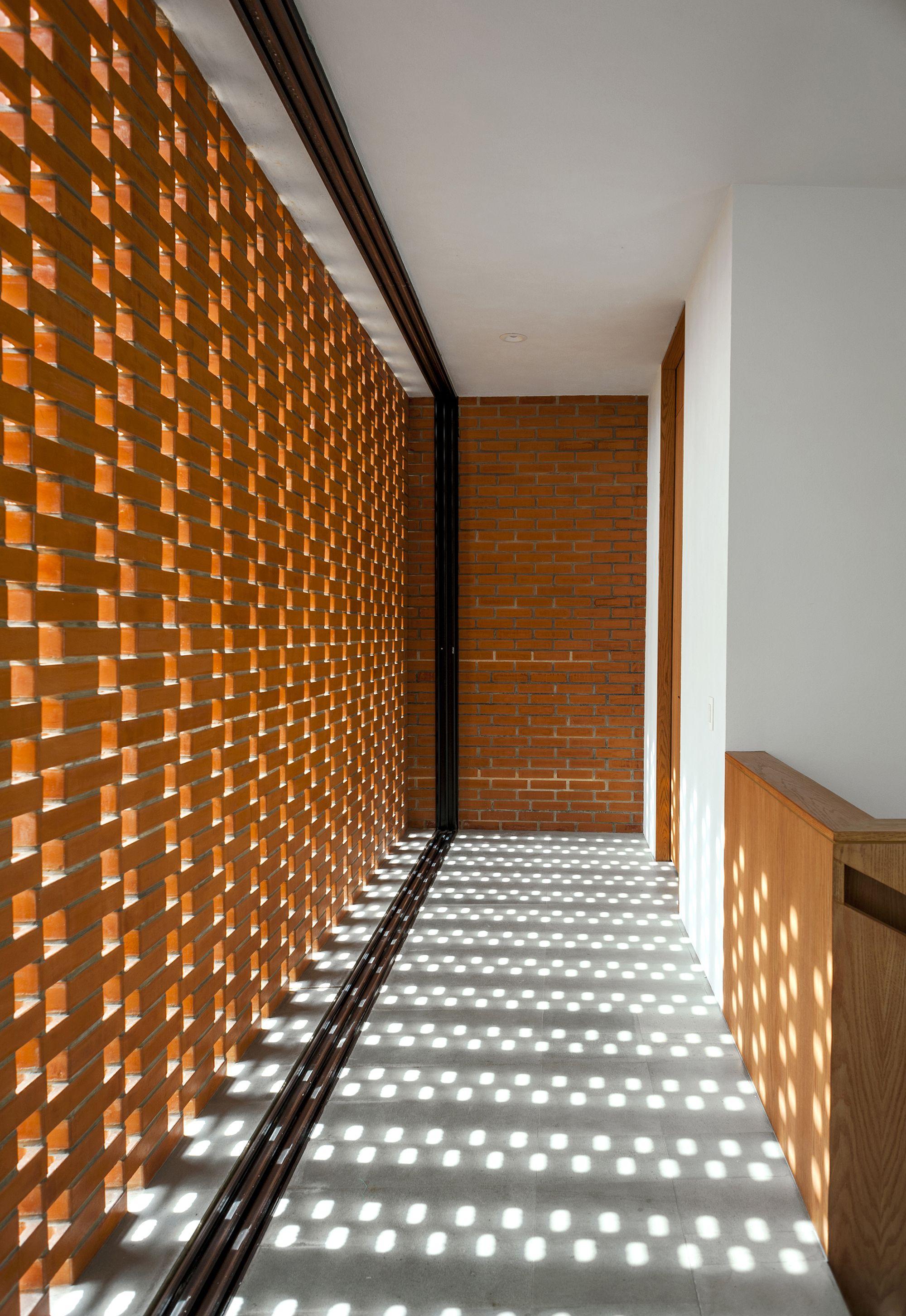 Galer a de casa ro alexanderson arquitectos 3 - Ladrillos decorativos para exteriores ...