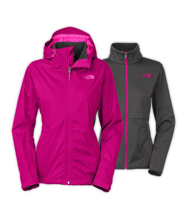 e94c80652 Women's Arrowood Triclimate® Jacket | Waterproof 3-in-1 | The North ...