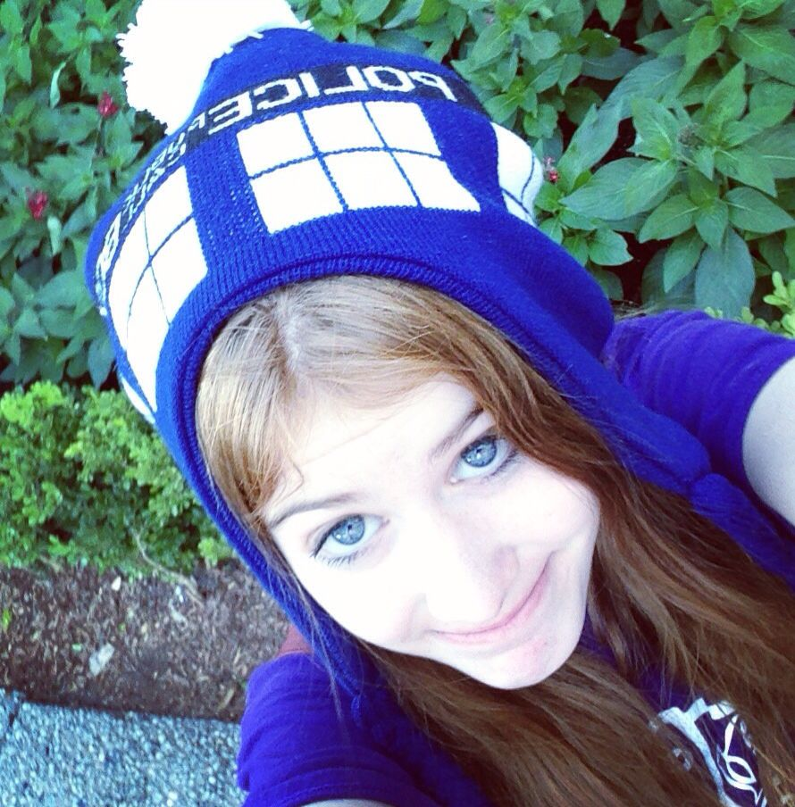 I wear a TARDIS now. Tardises are cool.
