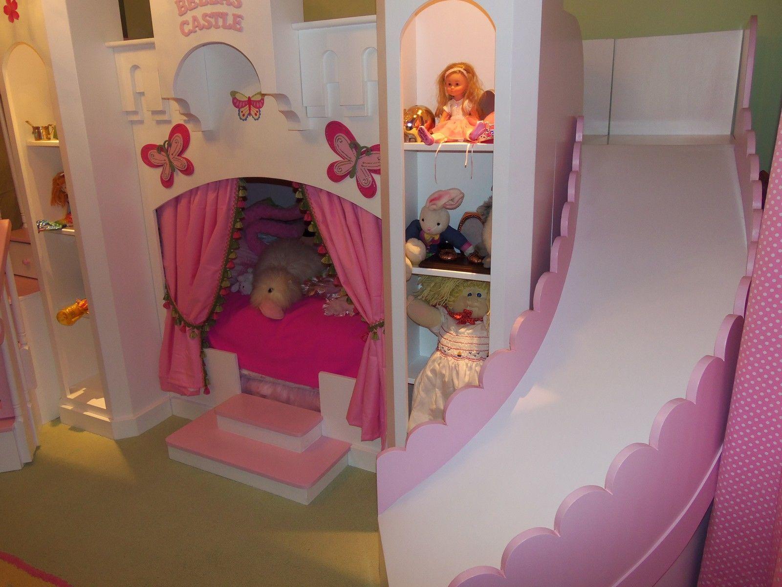New Bella s 2 Custom Princess Castle Loft Bed