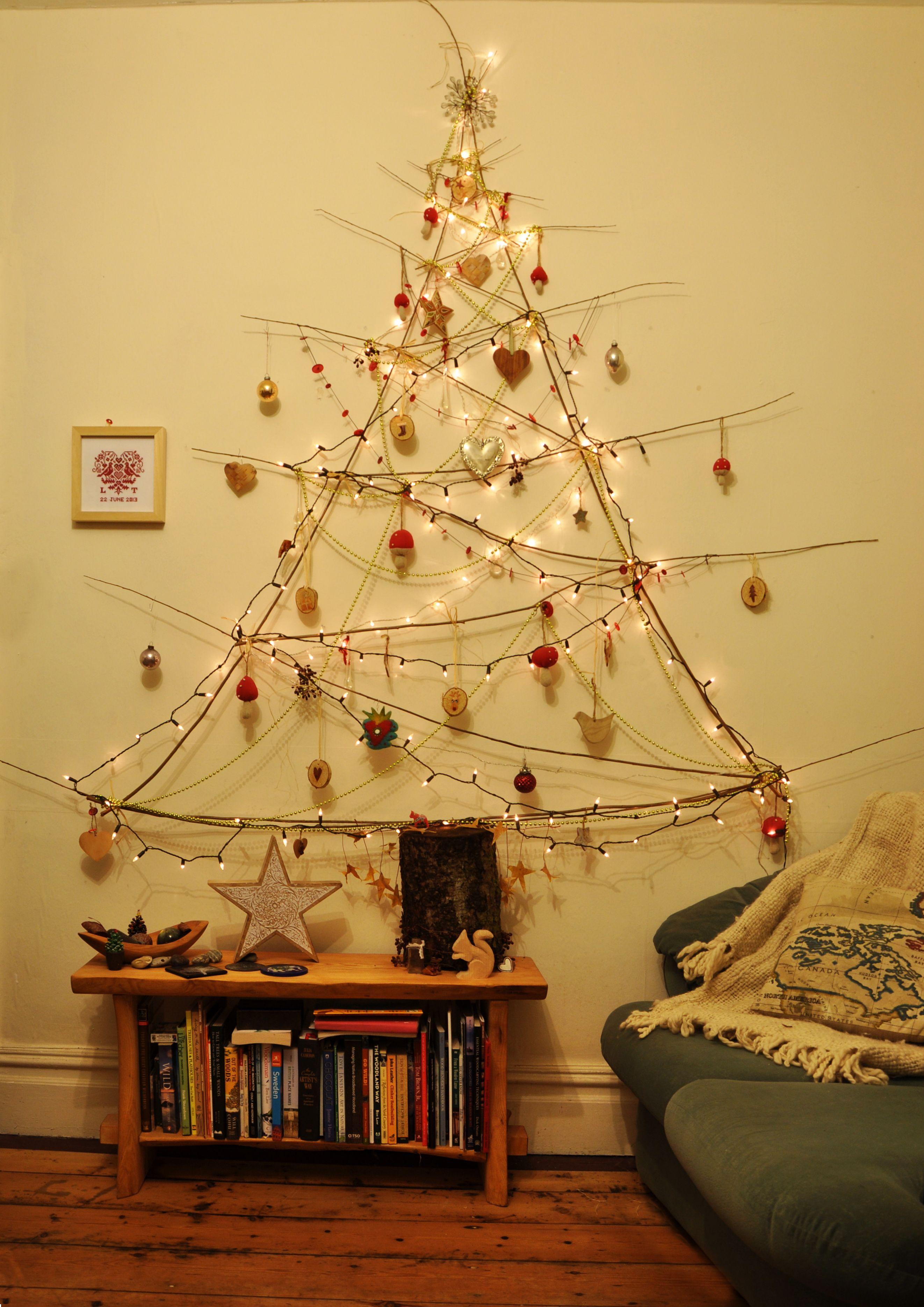 Willow Christmas tree.   Jesus is the Reason   Pinterest   Christmas ...